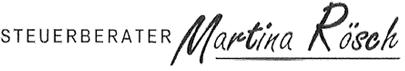 Dipl. Wirt. Jur. (FH) Martina Rösch, Steuerberater - Logo